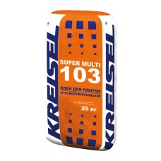 Клей для керамической плитки SUPER MULTI 103 Kreisel